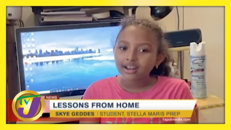 Access to Online Material - Lessons from Home | TVJ News 1