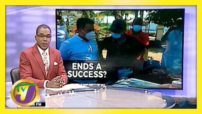 Mixed Reaction to ENDS Pilot Programme   TVJ News - April 5 2021 1