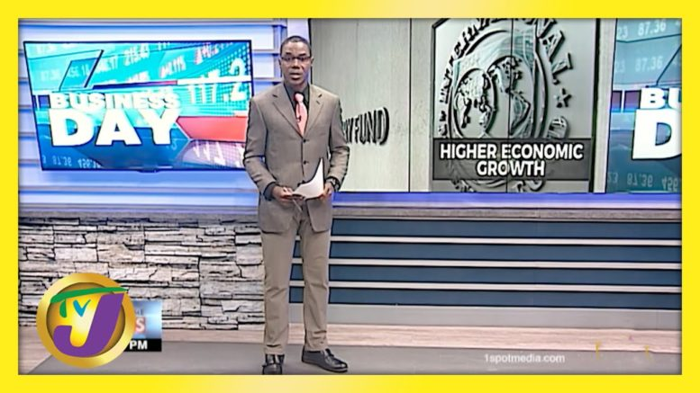 IMF Projects Higher Economic Growth for 2021 | TVJ Business Day - April 6 2021 1