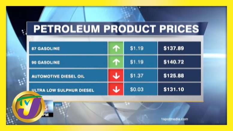 Jamaica's Gas Prices Continue to Climb | TVJ Business Day - April 7 2021 1