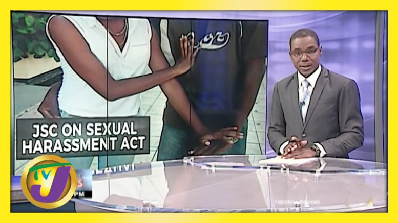 JSC on Jamaica's Sexual Harassment Act | TVJ News - April 7 2021 1