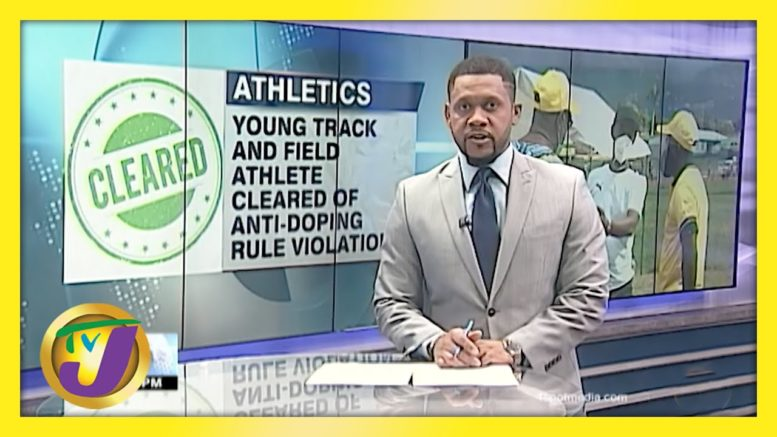 Young Track Athlete Cleared of Anti-Doping Rule Violation - April 7 2021 1