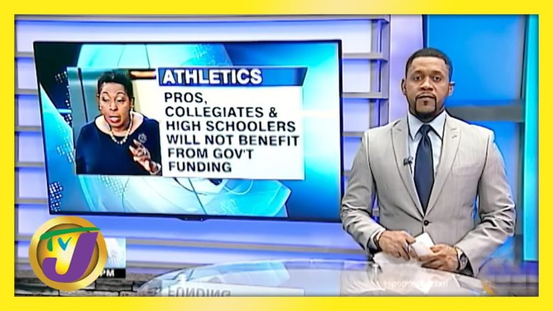 Strict Criteria for Gov't Funding for Jamaican Athletes - April 7 2021 1
