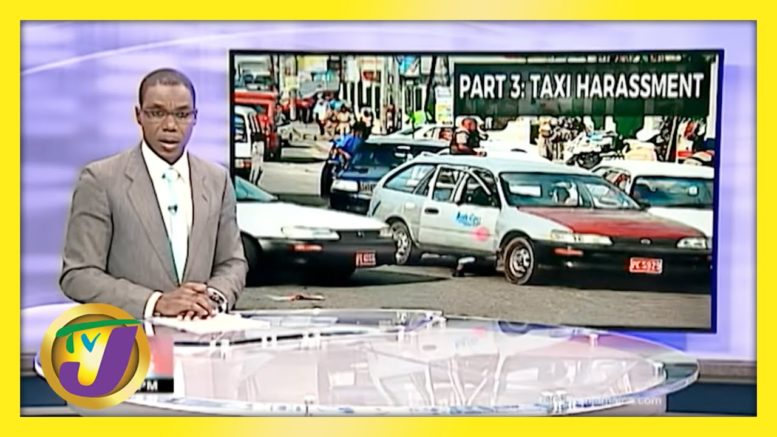 Taxi Association Responds to Harassment Claims   TVJ News - April 8 2021 1