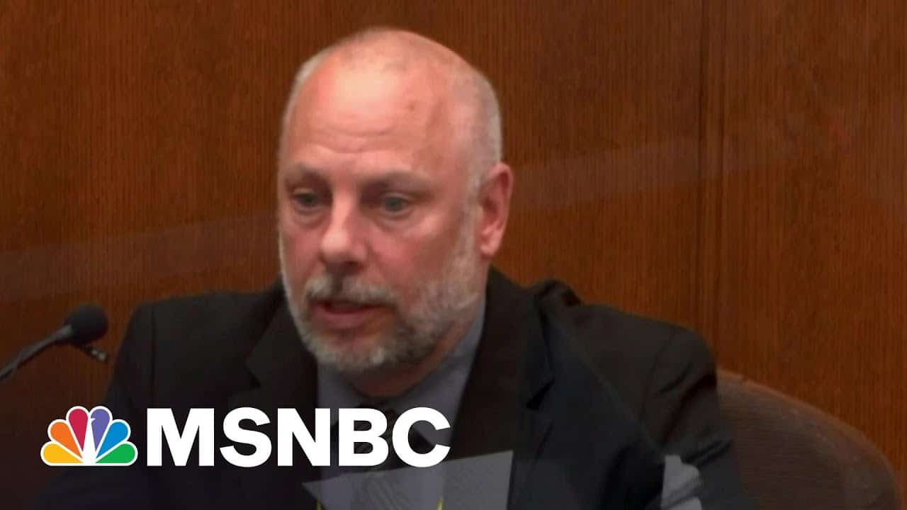 Police Officer Testifies Against Officer Who Killed George Floyd | The Beat With Ari Melber | MSNBC 1
