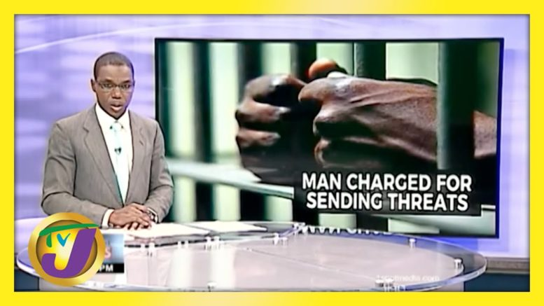 Man in Jamaica Charged for Sending Threatening Voice Note | TVJ News - April 8 2021 1