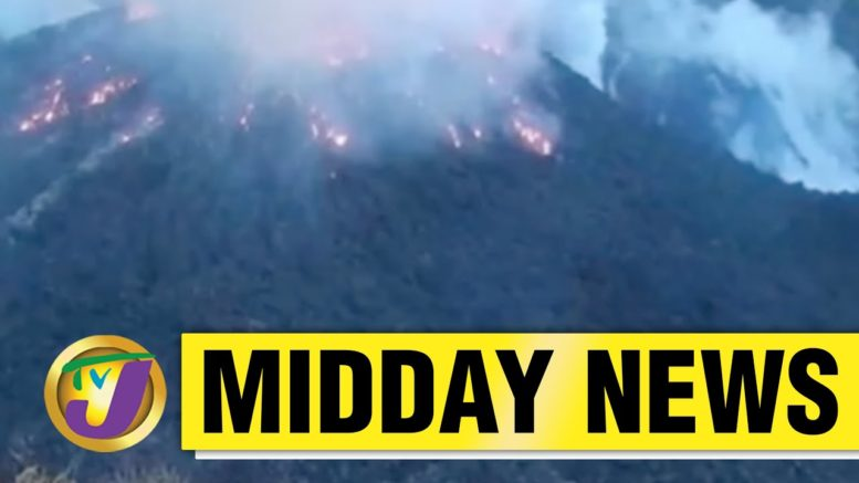 No Behaviour in Manchester Jamaica | Volcano Erupts in St Vincent & the Grenadines- April 9 2021 1