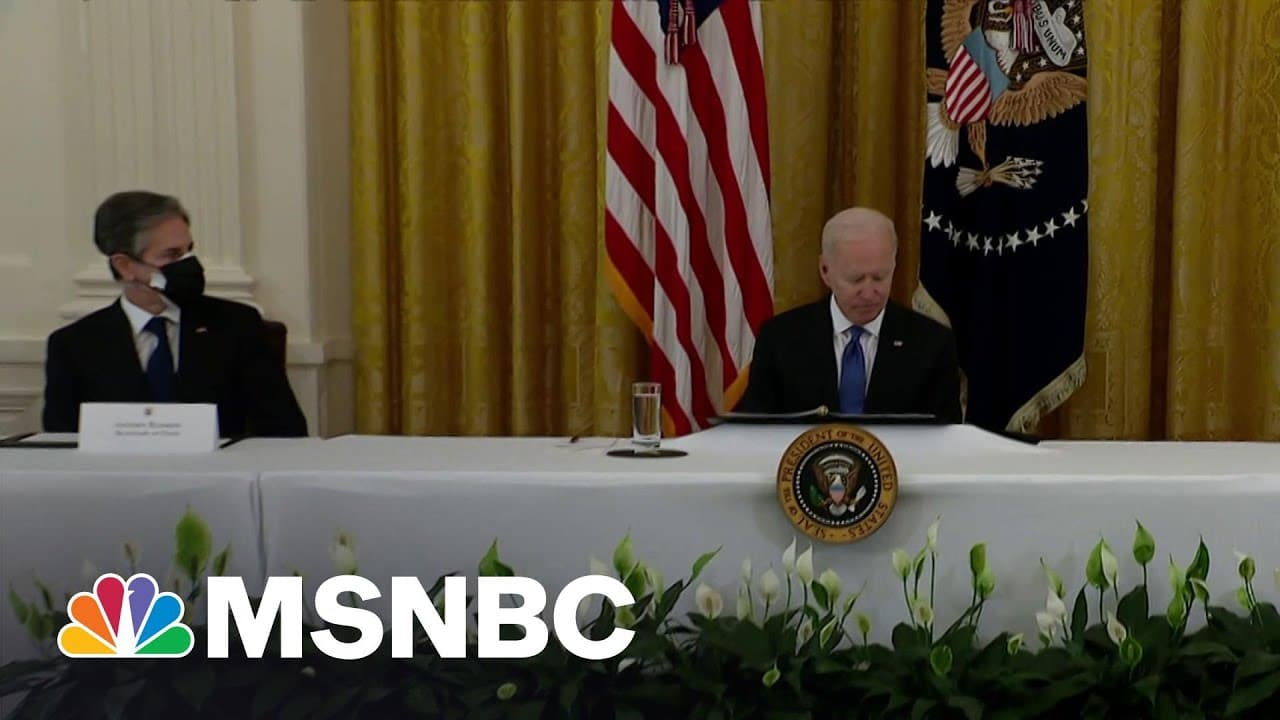 Trump's Reality Show Is Over: Biden Cabinet 'Looks Like America' | The Beat With Ari Melber | MSNBC 5
