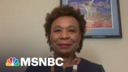 Rep. Barbara Lee On Joining Lawsuit Against Trump: 'We Seek Accountability'   The Last Word   MSNBC 7