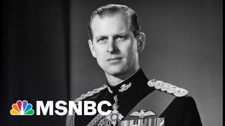 Prince Philip Was Once Mistaken For Winston Churchill | The 11th Hour | MSNBC 1