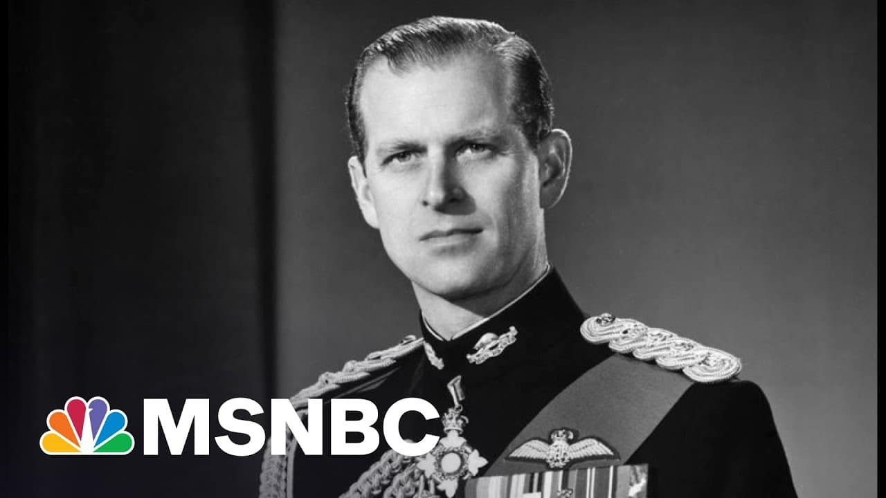 Prince Philip Was Once Mistaken For Winston Churchill | The 11th Hour | MSNBC 6
