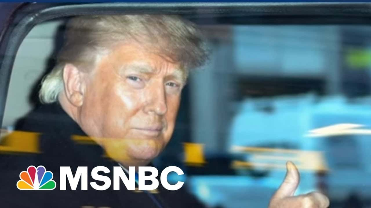 Trump's Legal Tornado! Massive Lawsuits Put 45 In 'Serious Trouble'   The Beat With Ari Melber 5