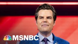 House Ethics Committee Launches Investigation Into Matt Gaetz | The ReidOut | MSNBC 3