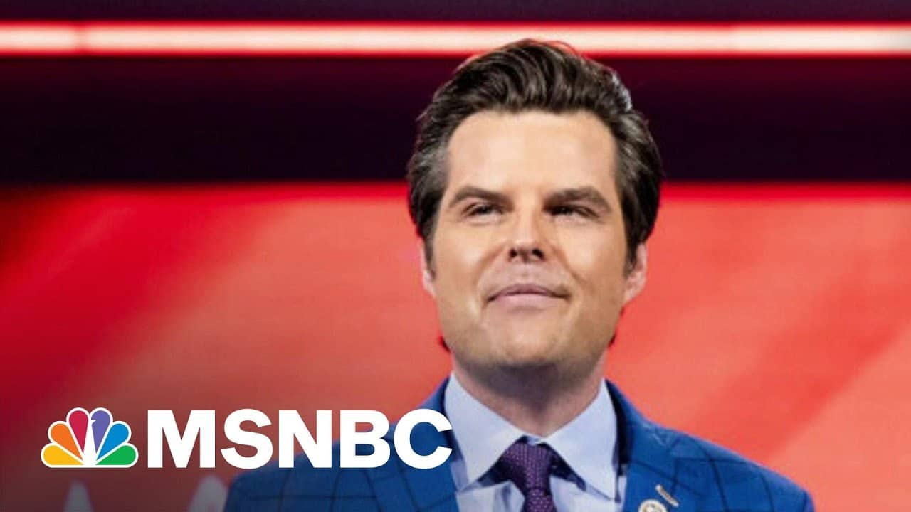 House Ethics Committee Launches Investigation Into Matt Gaetz | The ReidOut | MSNBC 5
