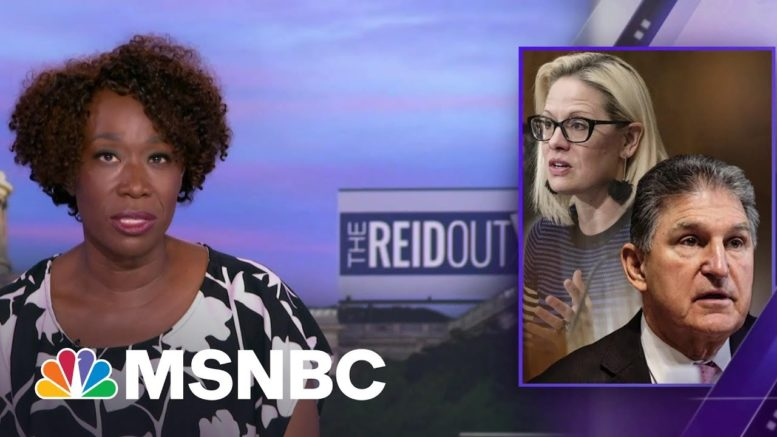 Manchin, Sinema Chasing A Mythical Bipartisan Beast By Defending Filibuster | The ReidOut | MSNBC 1