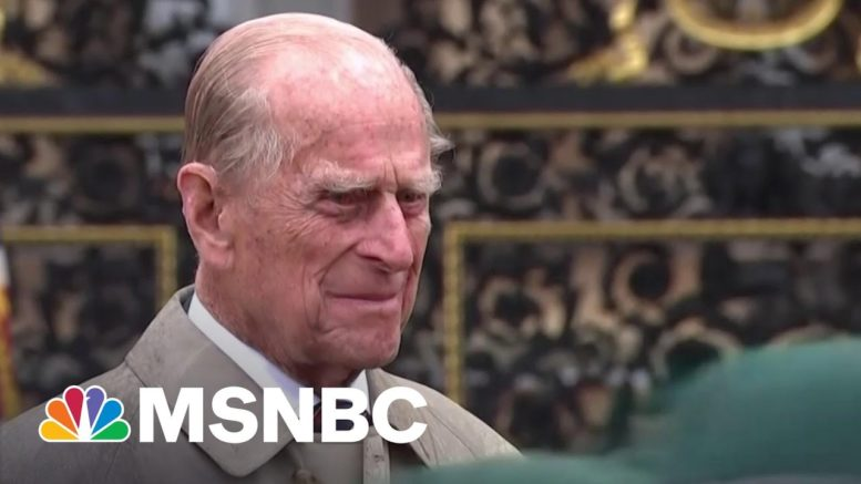 Palace Officials Reveal Funeral Plans For Prince Philip | MSNBC 1