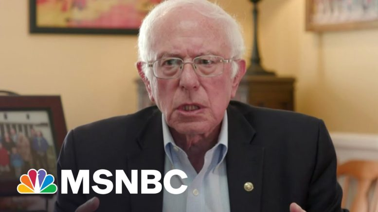 Bernie Sanders: GOP Will Try 'To Obstruct As Much As Possible' Biden's Infrastructure Plan | MSNBC 1