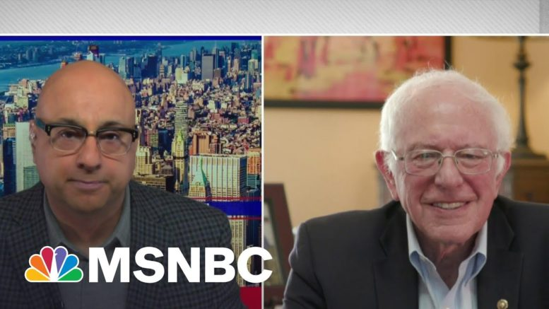 Bernie Sanders Reacts To Amazon Workers' Union Efforts In Alabama | Velshi | MSNBC 1