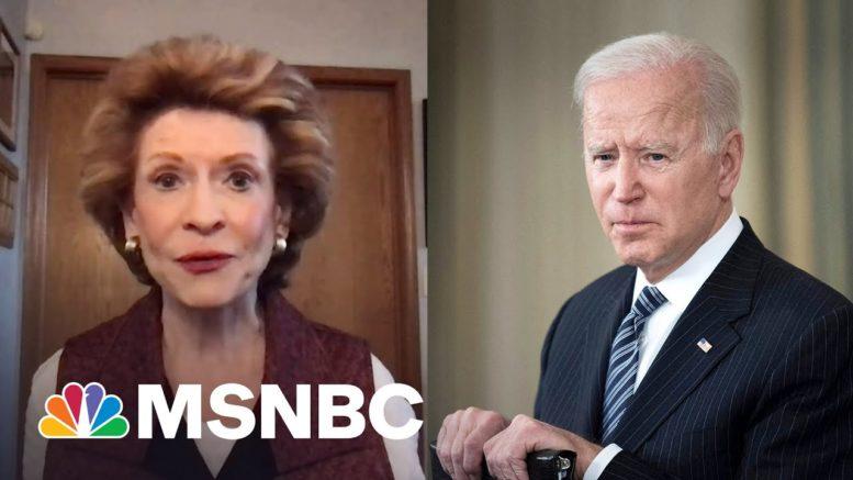 Biden Understands How Infrastructure Impacts Families And Caregivers, Says Sen. Stabenow | MSNBC 1