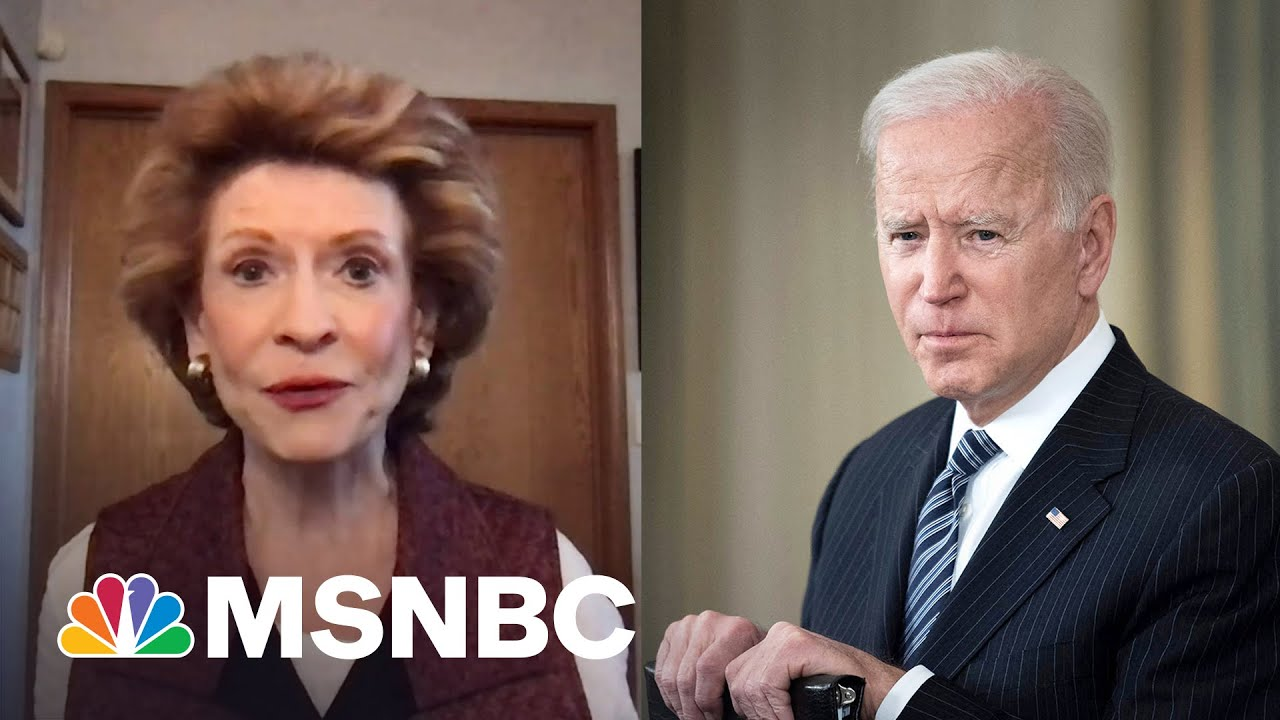 Biden Understands How Infrastructure Impacts Families And Caregivers, Says Sen. Stabenow | MSNBC 2