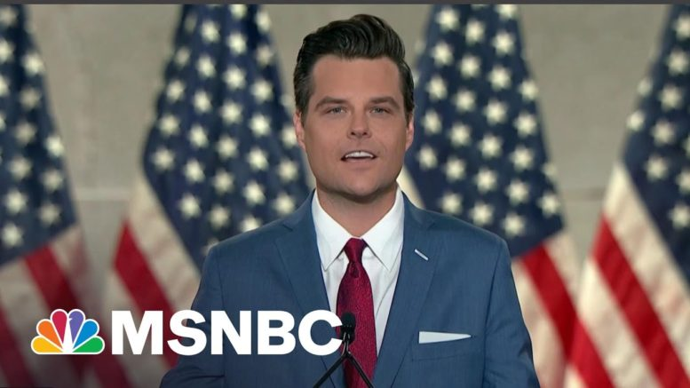 Why Republicans Cannot Wait To Turn On Matt Gaetz | All In | MSNBC 1