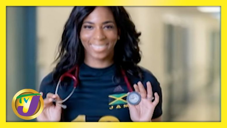Former Volleyball Player Provides SAT Scholarships for Athletes - TVJ Smile Jamaica 1
