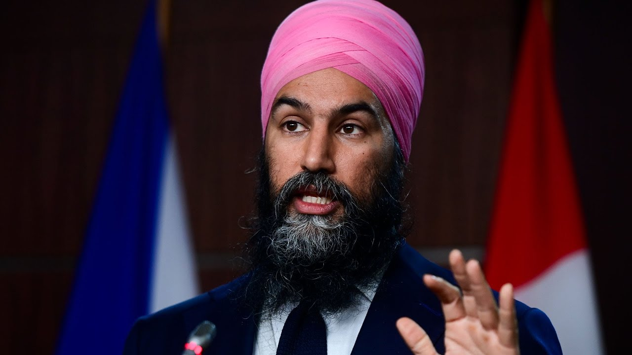 Jagmeet Singh addresses 2021 NDP virtual convention 4