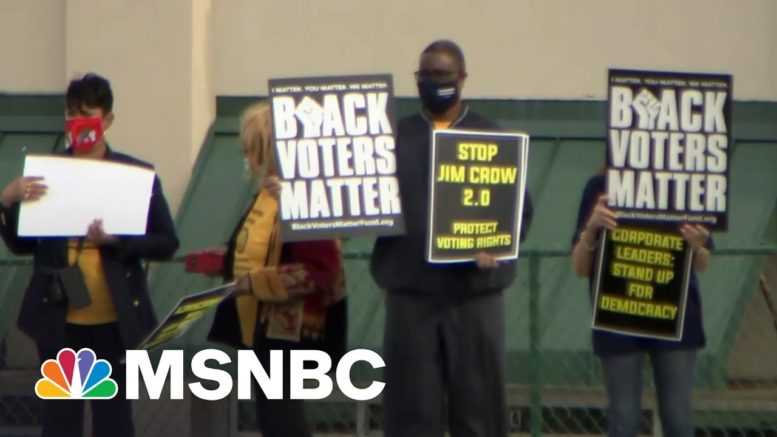 Voting Rights Advocate: This Is An 'All Hands On Deck Moment' | MSNBC 1