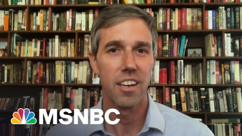 'It's Pretty Bad': Beto O'Rourke Talks Texas Voter Suppression Bill   All In   MSNBC 1