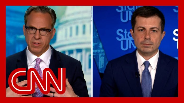 Tapper presses Buttigieg on infrastructure: Are you hurting your cause? 1