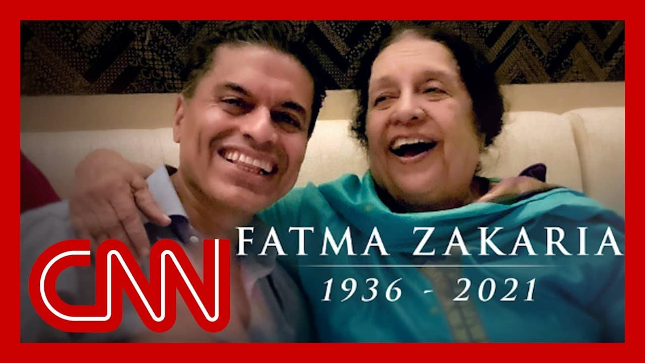 Watch Fareed Zakaria's moving tribute to his mom 9