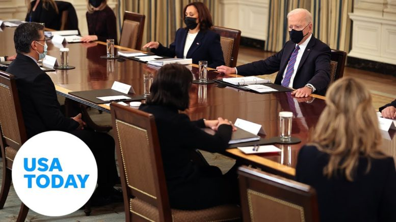 President Joe Biden holds a Cabinet meeting in the East Room   USA TODAY 1