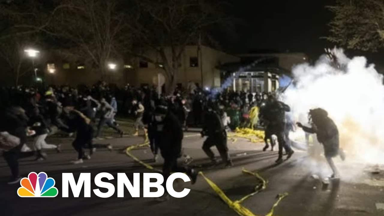 Minnesota Police Shoot Black Man During Traffic Stop, Sparking Protests | Morning Joe | MSNBC 8