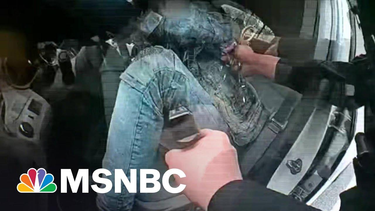 Body Camera Footage Shows Minnesota Police Shooting Of Daunte Wright | MSNBC 1