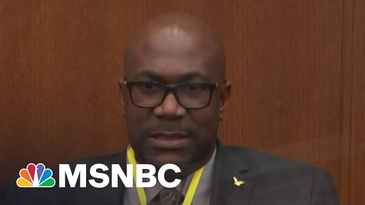 Philonise Remembers Brother George Floyd During Witness Testimony | Katy Tur | MSNBC 7