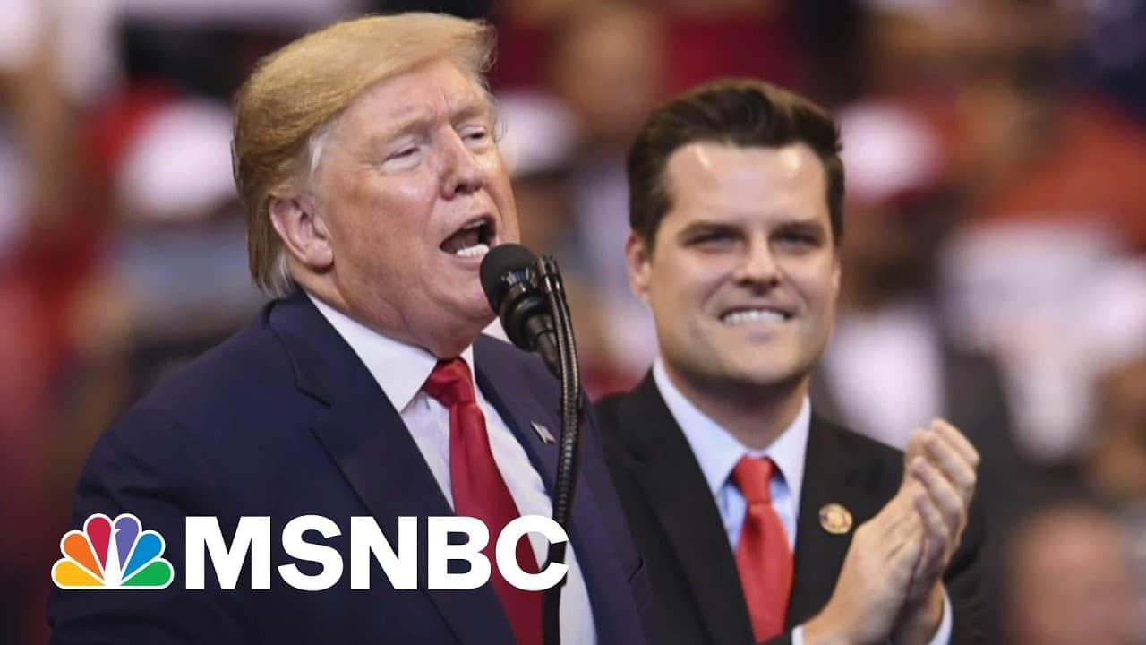 Watch Gaetz Go Full MAGA As Trump Dumps Congressman Facing Sex Crime Probe 4
