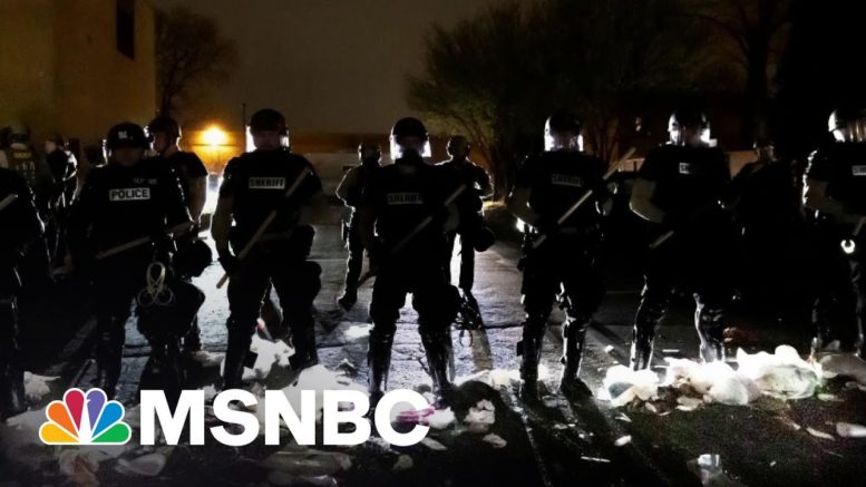 'We're Grieving,' Says Brooklyn Center Mayor In Wake Of Fatal Police Shooting | All In | MSNBC 1