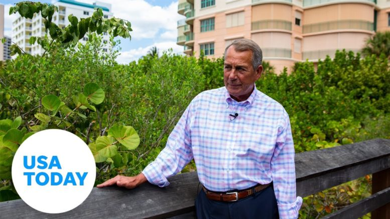 Exclusive: John Boehner discusses Trump's role in Capitol insurrection | USA TODAY 1