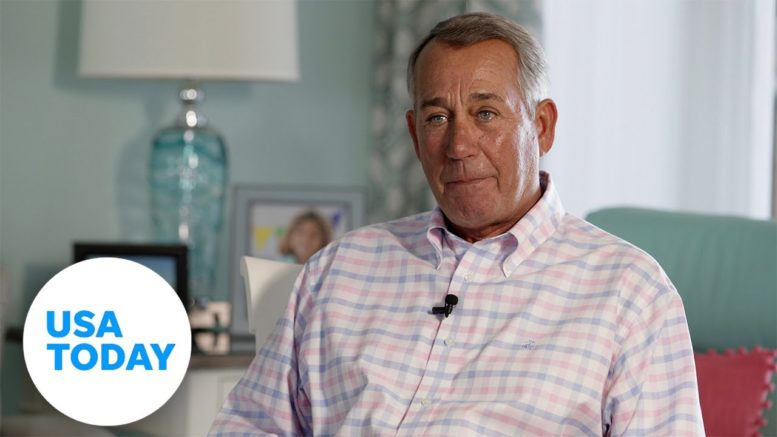John Boehner wears his heart on his sleeve and tears up over golf commercial | USA TODAY 1