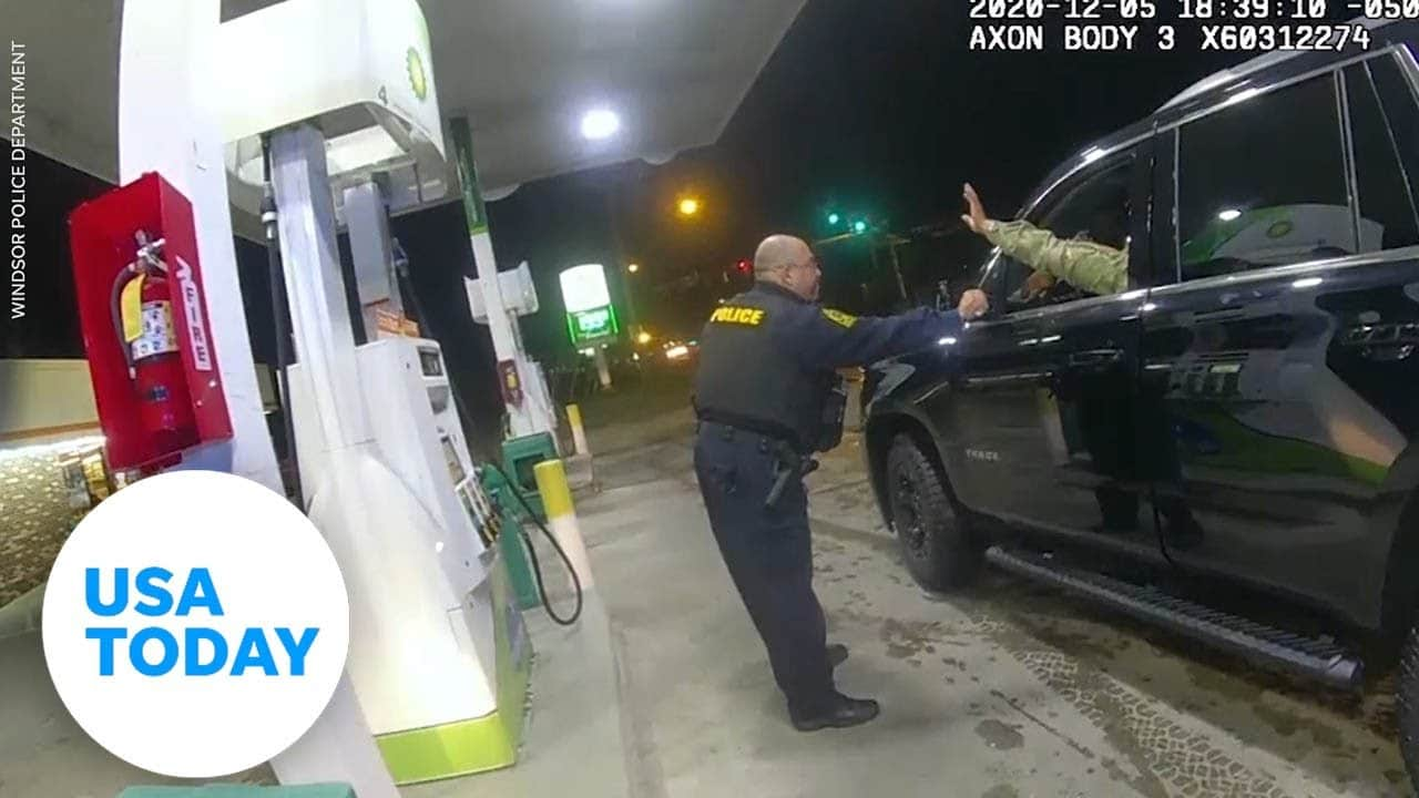 Video shows cop pepper spraying Army Lt. during traffic stop   USA TODAY 2