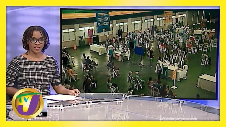 Jamaica's 1st Islandwide Vaccination Blitz | TVJ News - April 10 2021 1
