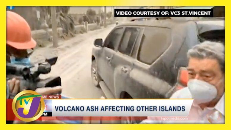 Volcano Ash Affecting Other Caribbean Islands | TVJ News - April 10 2021 1