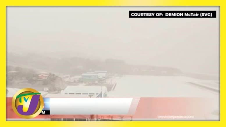 La Soufriere Volcano: Damage to Houses, Thousands Evacuated in St. Vincent | TVJ News 1