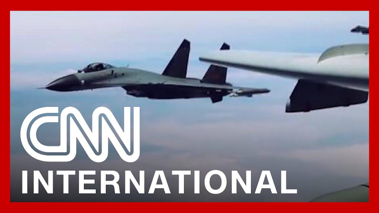 China sends warplanes into Taiwan's air defense zone, Taipei says 1
