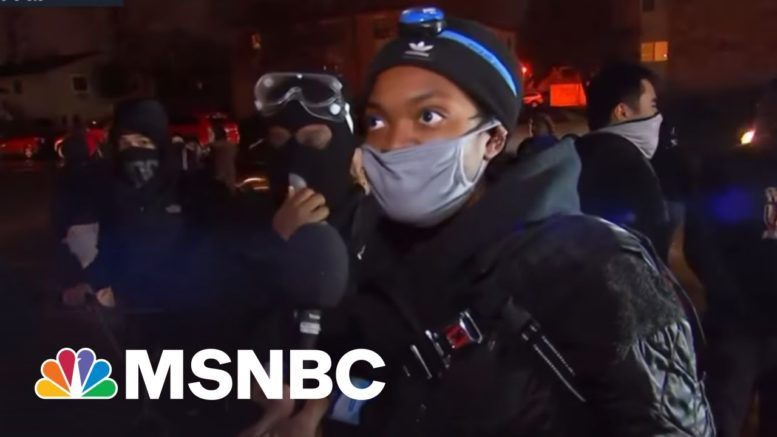 Protesters Skeptical Of Taser Mistake Explanation In Police Killing Of Daunte Wright   Rachel Maddow 1