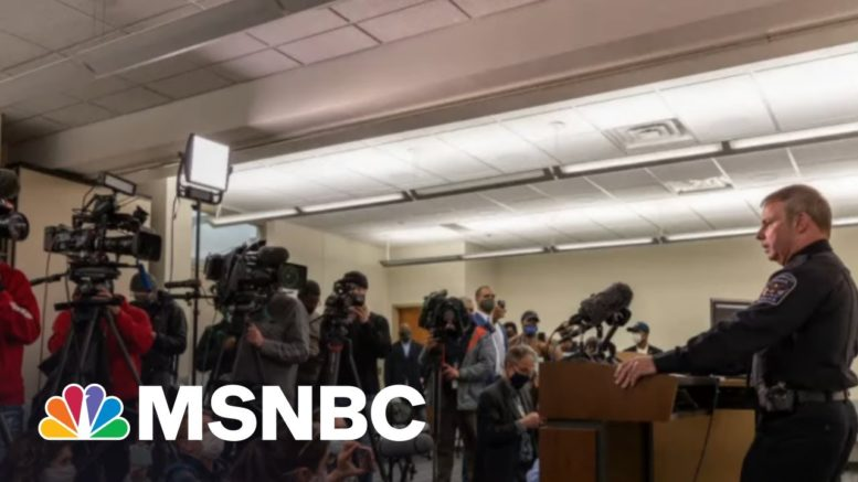 Daunte Wright Is Killed By Police As Trial In Killing Of Floyd Continues | Rachel Maddow | MSNBC 1