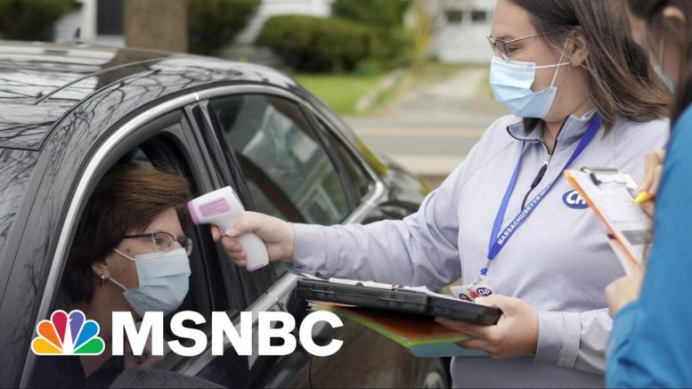 How Do You Stop A Covid Spike When You're In The Middle Of It? | Rachel Maddow | MSNBC 1