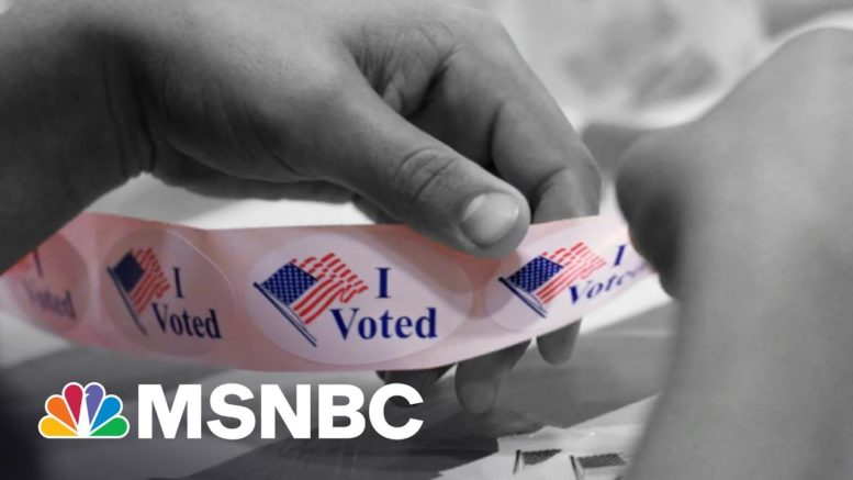 Big Business Bucking Republicans With Focus On Voting Rights | The 11th Hour | MSNBC 1