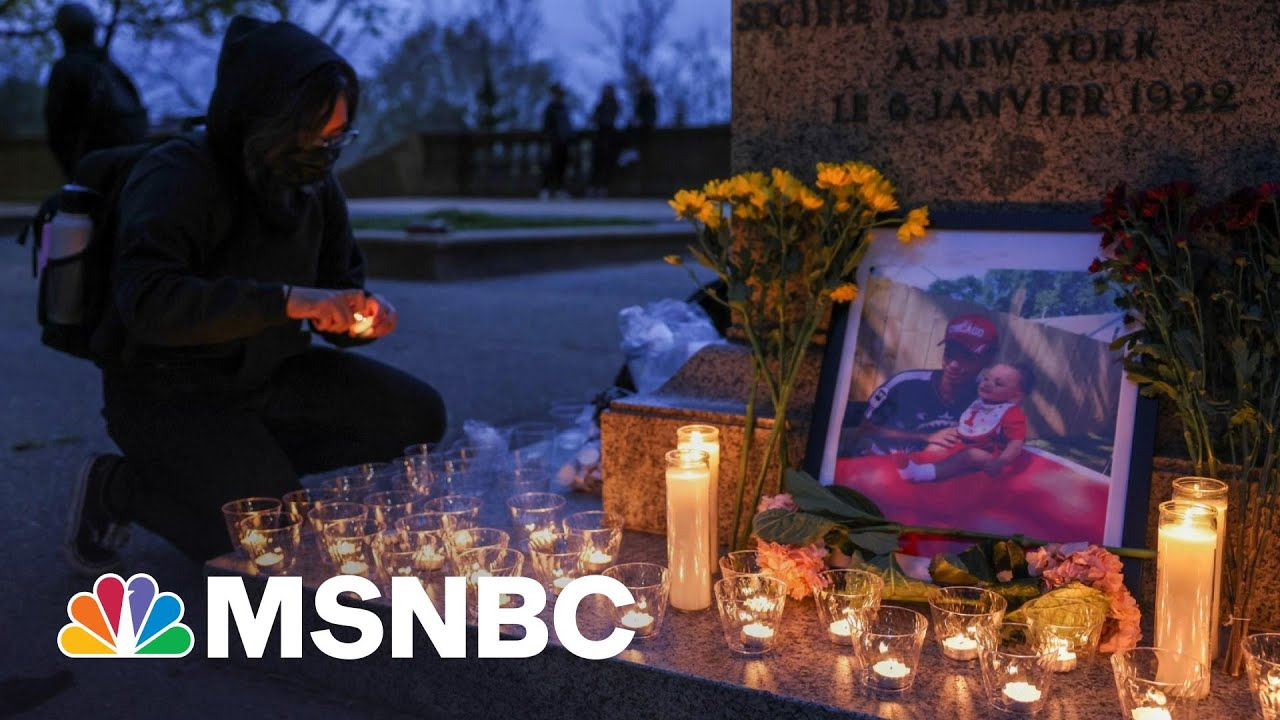 Second Night Of Protests After Police Killing Of Daunte Wright | The 11th Hour | MSNBC 2