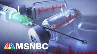 U.S. Recommends Pausing Use Of Johnson & Johnson Vaccine   Morning Joe   MSNBC 6
